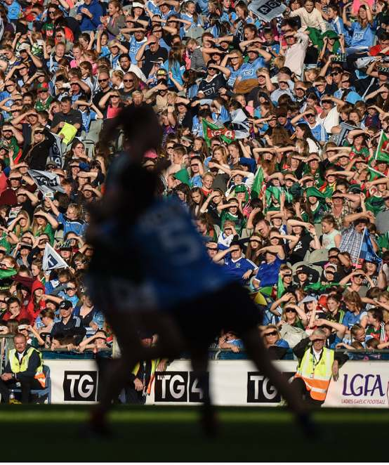 Highest-ever viewing figure for TG4 All Ireland Ladies' Football Final