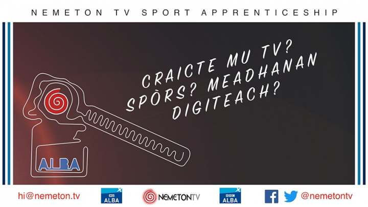Nemeton TV Sport Apprenticeship